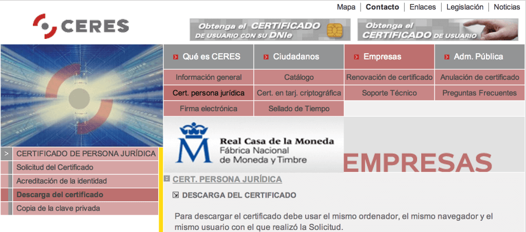 Como obtener el certificado digital y para qu sirve for Sellar paro con certificado digital